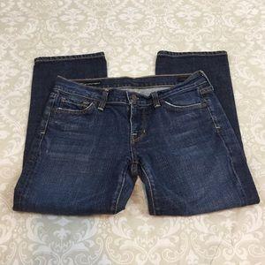 COH Low Waist Crop Jeans SZ 26